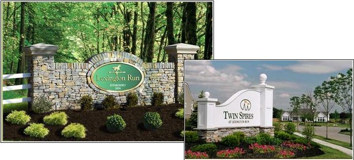 Lexington Run  Twin Spires Homes For Sale