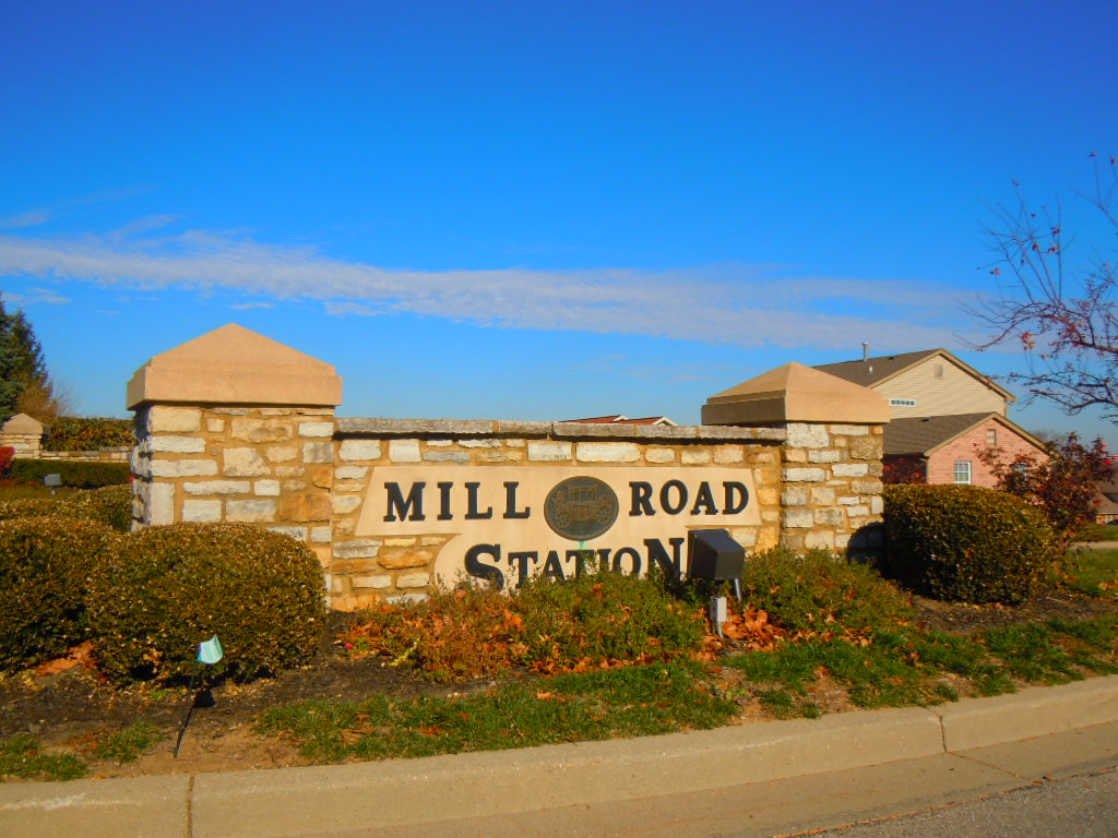Mill Road Station Forest Park Ohio