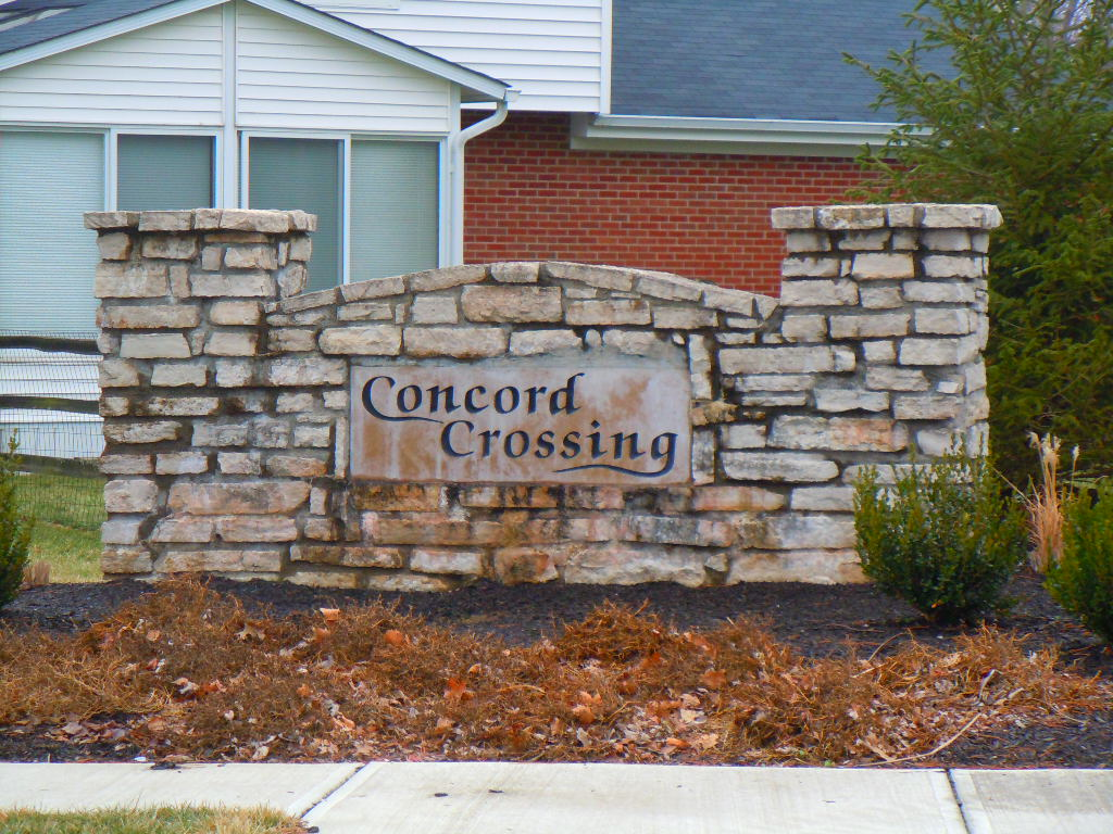 Concord Crossing Mason Ohio